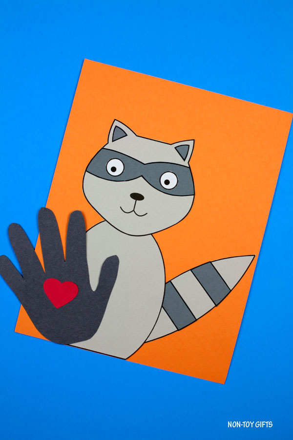 The Kissing Hand craft for kids for back to school