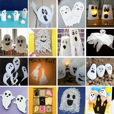 44 Ghost Crafts for Kids