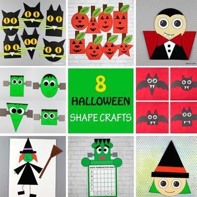 Halloween shape crafts