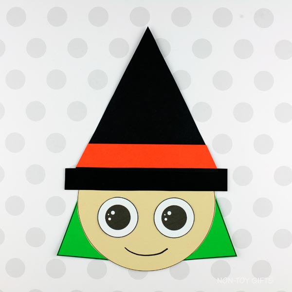 shape witch craft template
